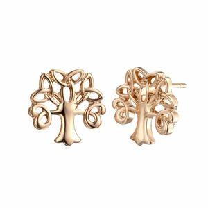 COMING SOON!! 14K Gold Tree Of Life Stud Earrings